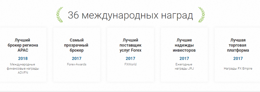 Качество услуг крипто брокера подтверждено многочисленными наградами в различных номинациях.